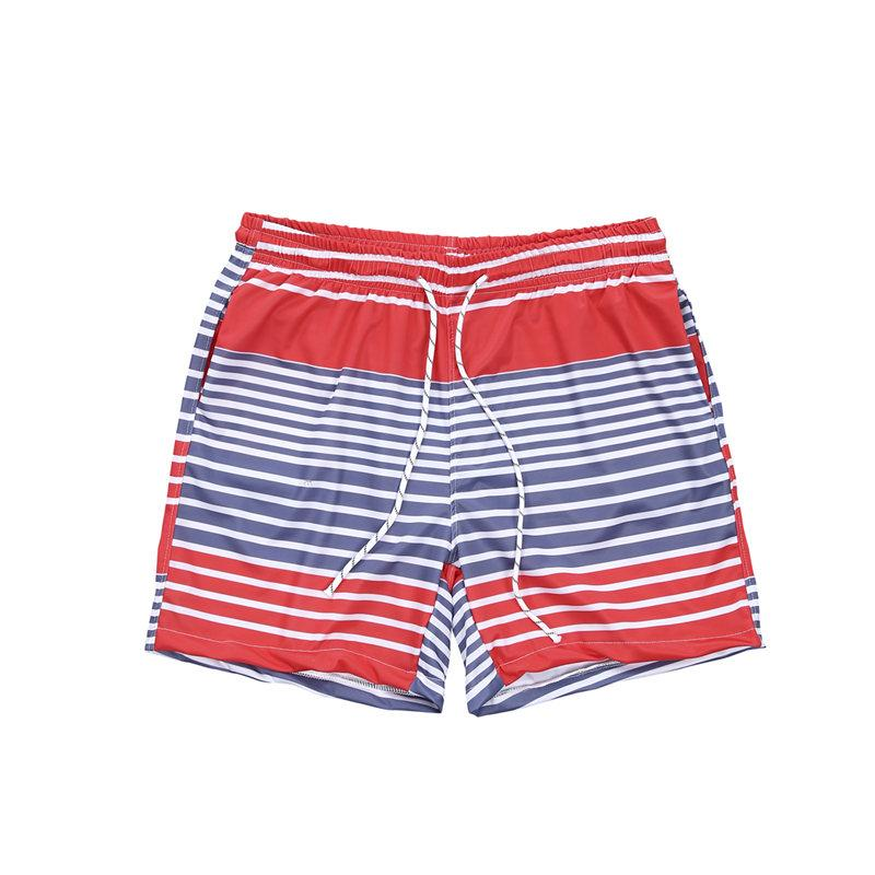 6ec6701fbedd4 2019 Men Trunks Striped Swimwear Surfing Board Beachwear Swimming Shorts  Drawstring Trunks From Yyliang, $38.25 | DHgate.Com