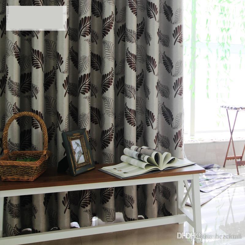 Moderne minimalistische Samt Blackout Vorhangstoff benutzerdefinierte  Wohnzimmer Schlafzimmer Erker Fenster Schallschutz Vorhang fertig