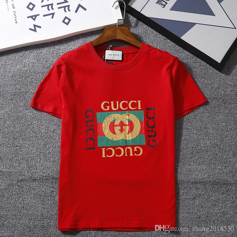 3bb7c85a9 New Summer Gucci Cotton Woman T Shirts Limited Edition Fashion ...