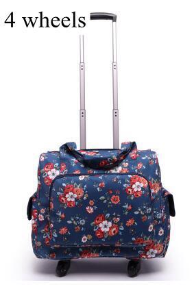 Handgepäck Gepäck & Taschen Chengzhi16 zoll Frauen Leder Trolley Tasche Spinner Kabine Reise Koffer Tragen Auf Gepäck Tasche Auf Rädern