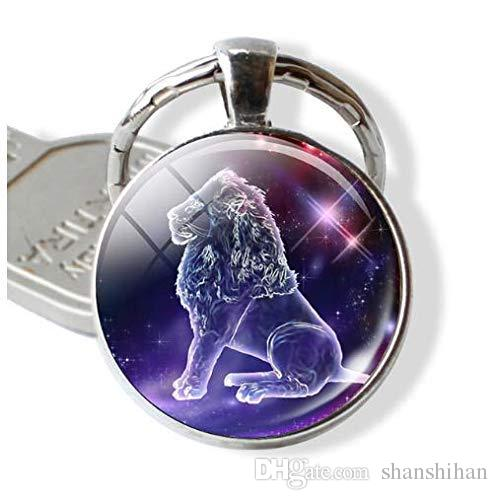 Birthday Gift, Cute Zodiac Keyrings,Constellation Jewelry