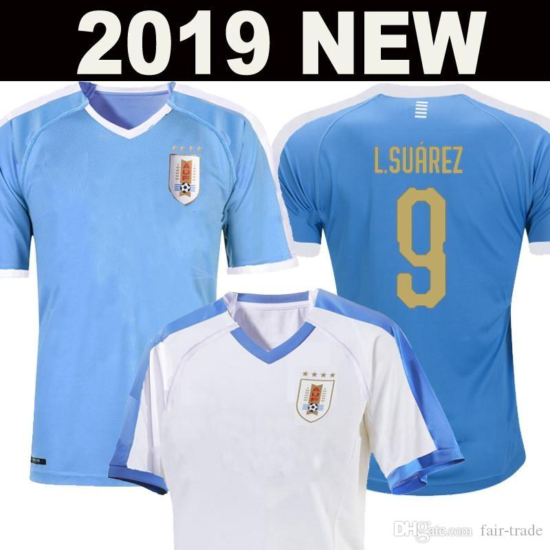 2019 Uruguay Copa America Soccer Jersey 19 20 Uruguay Home L.suarez E.cavani Soccer Shirt D.GODIN National Team Football Uniforms
