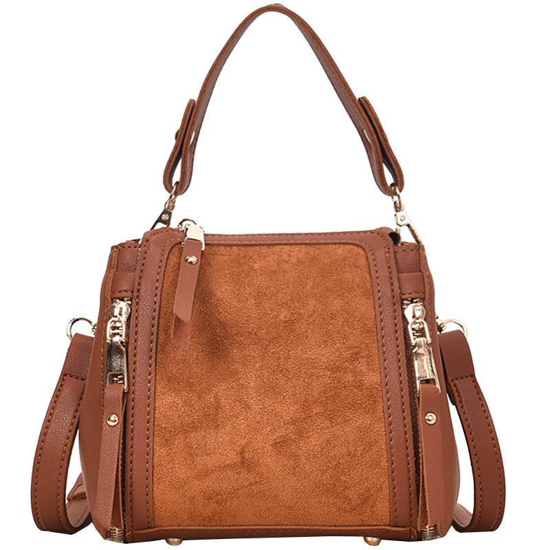745615005d Vintage Fashion Women S Designer Handbag 2019 New High Quality Pu Leather  Women Tote Bag Suede Shoulder Messenger Bags Crossbody Italian Leather  Handbags ...