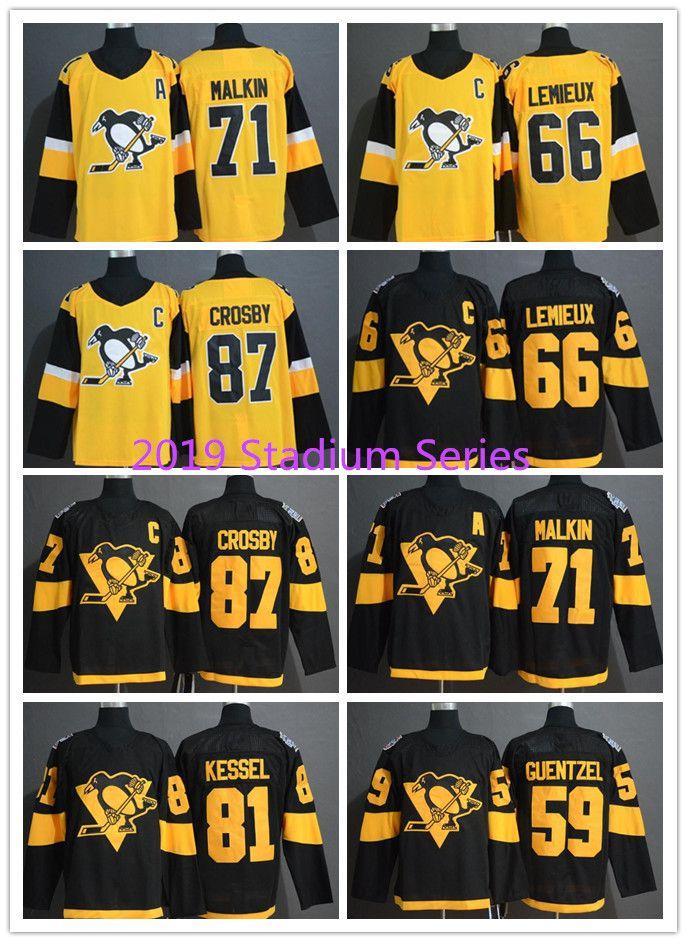best website 05a21 96874 2019 Stadium Series Pittsburgh Penguins Jersey 87 Sidney Crosby 71 Evgeni  Malkin Phil Kessel Lemieux Jake Guentzel Hornqvist Hockey Jerseys