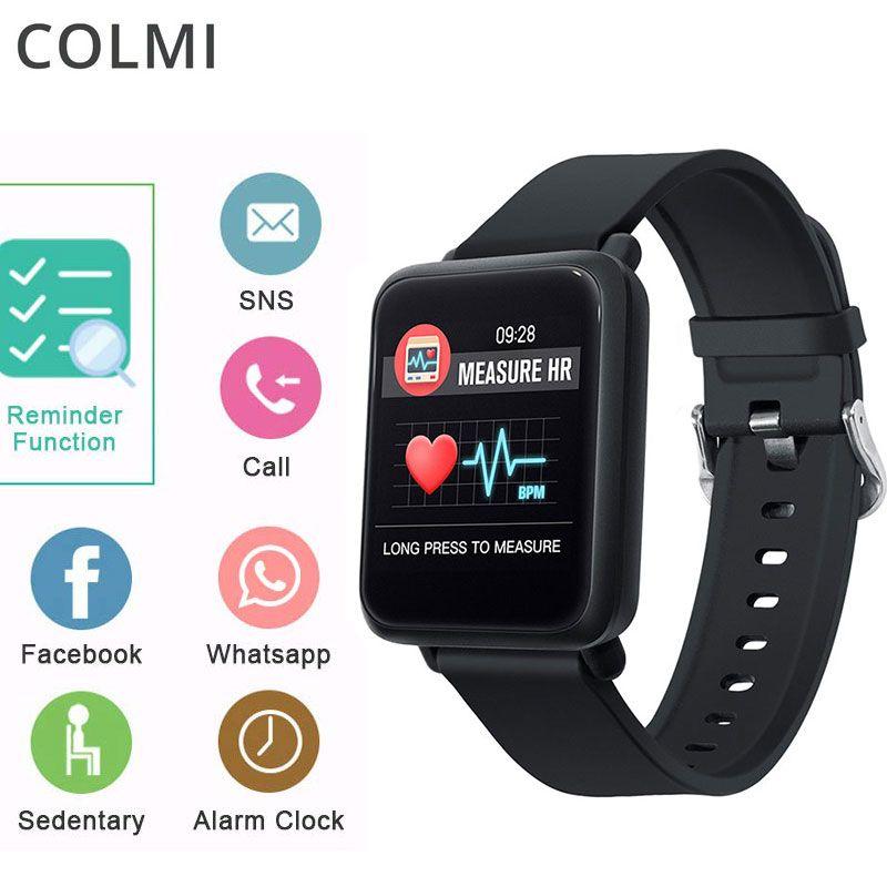 27312a0a5953 Relojes De Lujo COLMI Sport3 Reloj Inteligente Para Hombres Presión  Arterial IP68 Impermeable Rastreador De Ejercicios Reloj Smartwatch Para  IOS ...