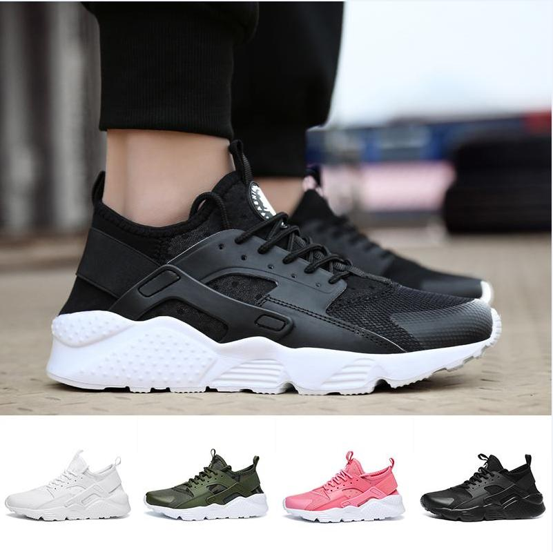 38b80e550a72d 2018 New Air Huarache Shoes Huraches Trainers For Men   Women Outdoors Shoes  Huaraches Sneakers Hurache Sperry Shoes Silver Shoes From Chsm05ysgs