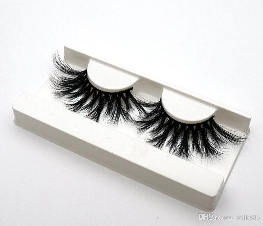 44 styles 5D Mink Hair 25mm False Eyelashes Thick Long Messy Cross Eye Lashes Extension Eye Makeup Tools