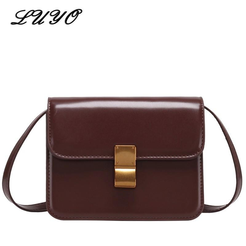 0d9c51cb9b5 2018 Fashion Curd PU Leather Small Girl Messenger Bag Flap Famous Brand  Luxury Handbags Women Crossbody Bags For Designer Cheap Hobo Purses Leather  Bags For ...