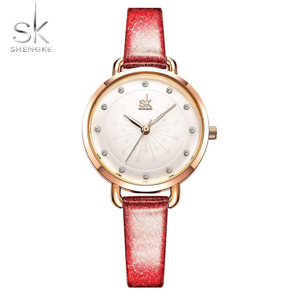 034978041e8 Compre 2019 Nova Moda Das Mulheres Cinto De Diamante Fundo Mulher  Superfície Rosa De Ouro Relógio De Pulso Assecla Minion Assista Luxo  Invicta Relógios ...