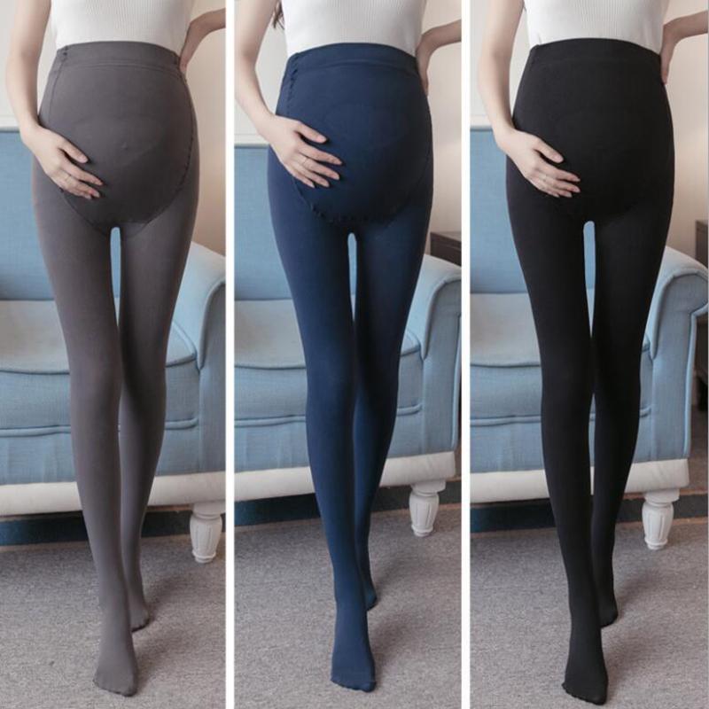 Acheter 2019 Printemps Automne Grossesse Vêtements Pantalons Solide Plus La  Taille Usure De La Maternité De La Mode Leggings Pour Les Femmes Enceintes  ... 66b84e0aeb4
