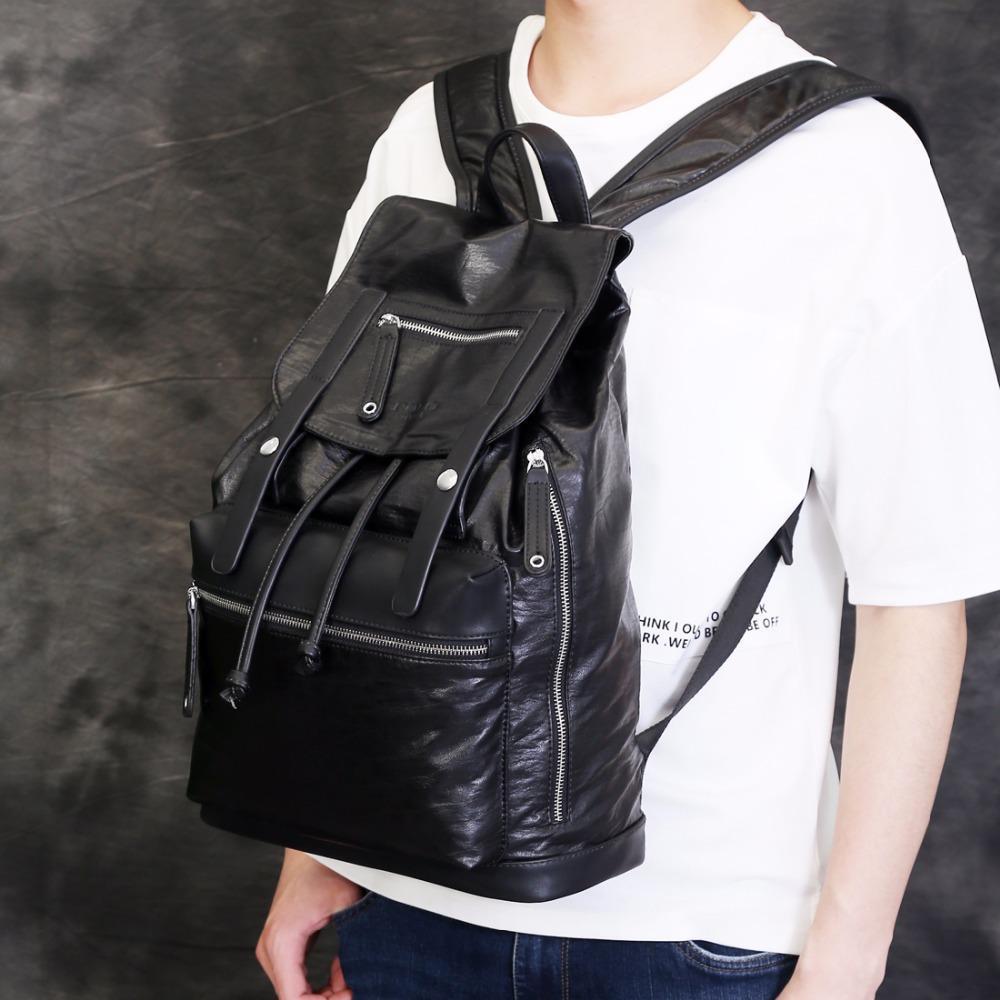 1807536083 Uggage Bags Backpacks VICUNA POLO Drawstring Design Men Large ...