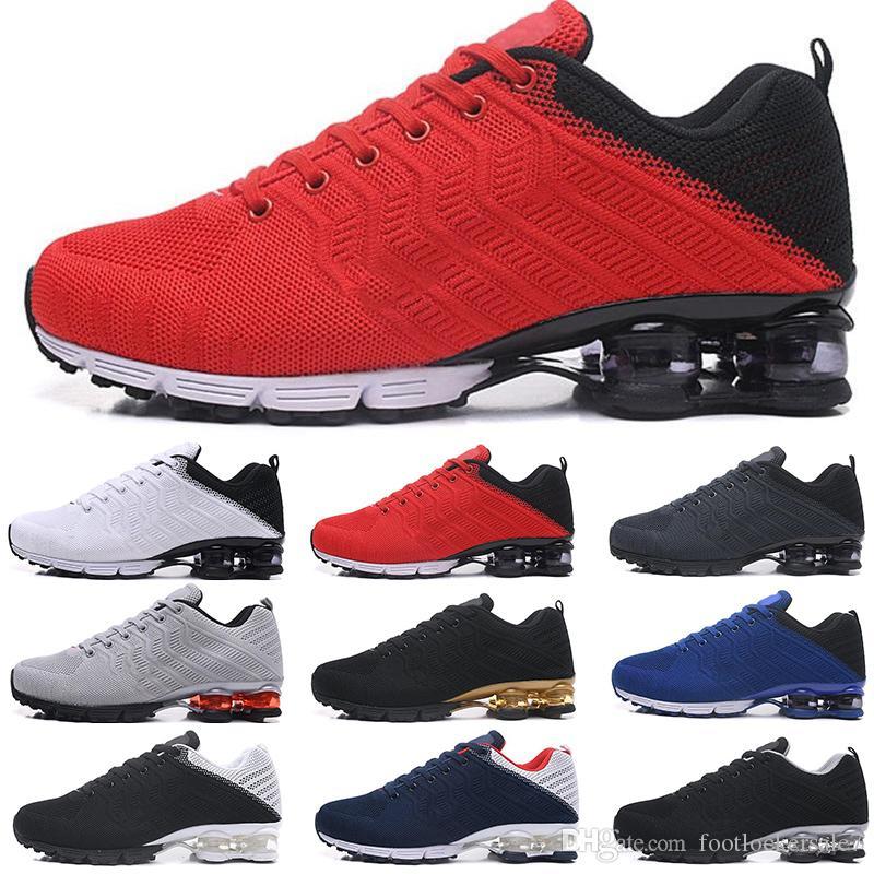e7d0ea2fa3a33e Großhandel 2019 Neueste Shox 628 Herren Laufschuhe Rot Blau Airs Männer Shox  Nz Basketballschuhe Chaussures Hombre Tn Men Knit Designer Sneakers Von ...