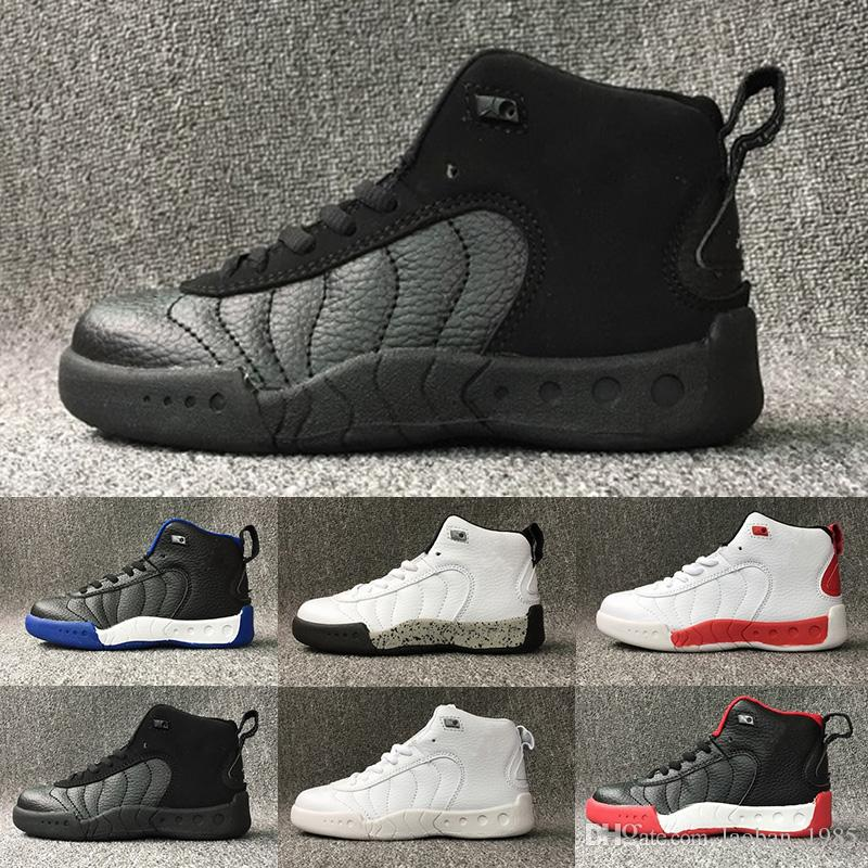 e7d889536e0 Acheter Nike Air Jordan 12 Retro 2018 12 Chaussures De Basketball Pour Enfant  Chaussures De Sport En Plein Air Baskets Pour Enfants Gym Red Chicago  Midnight ...