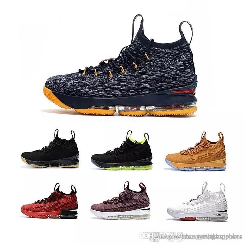huge discount b42d9 8ab27 with box king 15 mens Basketball Shoes Equality Crimson EQUALITY City  Edition black gum BHM Graffiti the king 15s sports Sneakers