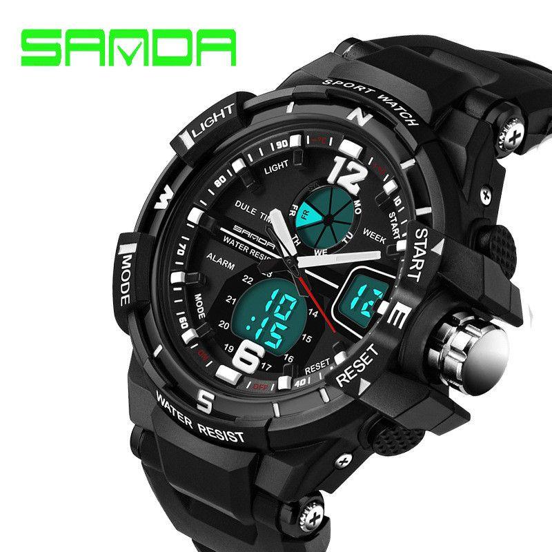3f59391f37c SANDA 289 G Style Men S Watches Top Brand Luxury Military Sport Watch Men S  Shock Resist Reloj Hombre Relogio Masculino Boy Gifts Online Wrist Watch  Best ...