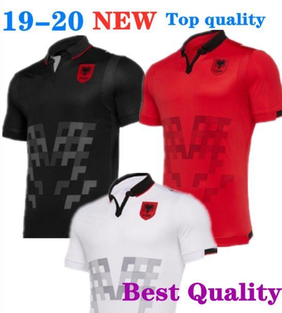 e6f642a02 2019 2019 2020 Republic Of Albania Soccer Jerseys HYSAJ XHAKA Custom 19 20  Albania Home Red Away Football Jersey Shirt European Cup S XXL From  Celina rong8