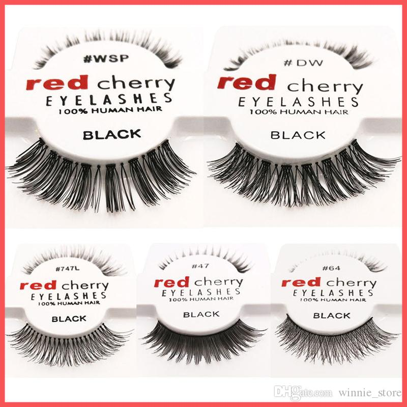 f73e08a4cc7 15 Styles RED CHERRY False Eyelashes Natural Long Eye Lashes Extension  Makeup Professional Faux Eyelash Winged Fake Lashes Eyelash Extensions  Sydney ...
