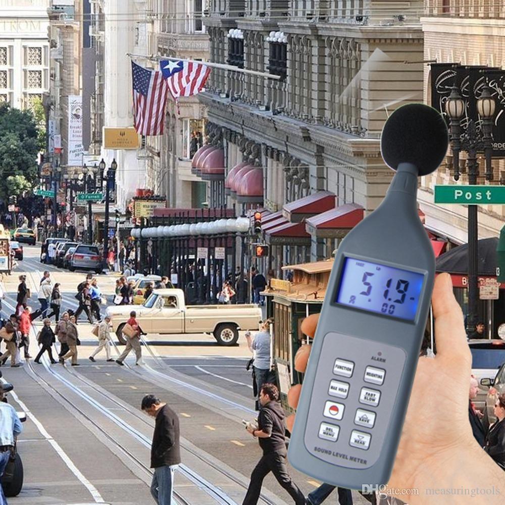 SL-5868P Digital Sound Noise Level Meters Tester Analyzer Meter Detector  Self Calibration Frequency range: 31 5Hz~8kHz