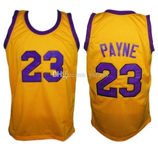 Martin Payne #23 Tv Show Retro Basketball Jersey Men's Stitched Custom Any Number Name Jerseys