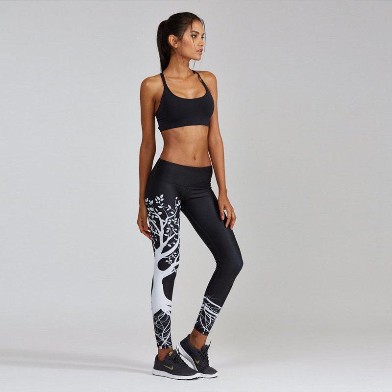 1a6d76f310 2019 2019 New Leggings Women Yoga Pants Leggings Printed Sport Pants  Running Gym Leggings Fitness Workout Print Male Girl Sports Clothing Wear  From Nataleea ...