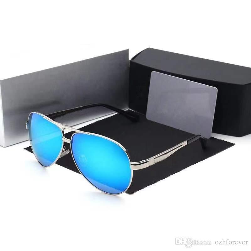 c2c9e6152 Compre Mercedes Benz 737 Homens Polarizados Óculos De Sol De Condução Óculos  De Sol Óculos De Armação De Aço Inoxidável Aviação Oculos De Sol Masculino  ...