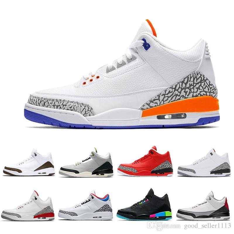 22774d50e1755e New III Knicks Rivals Men Basketball Shoes Mocha Chlorophyll Varsity ...
