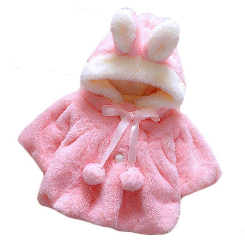 18165f21f 2019 2018 Children S Autumn Winter Warm Tops Soft Plush Rabbit Ears ...