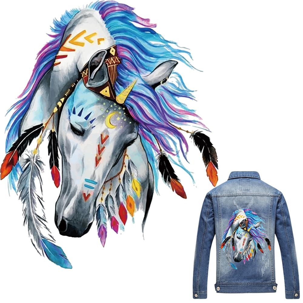 301dcb1d9c5 2019 3D Horse Patch T Shirt Press Heat Transfer Sticker A Level Washable  Iron On Appliques For T Shirt Dresses Clothes Decoration From Pingwang2