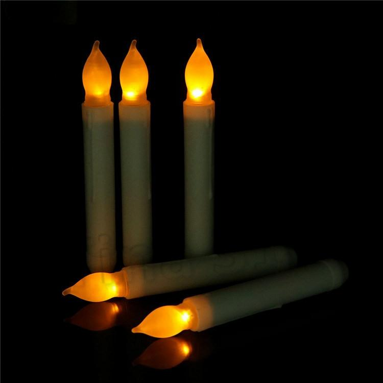 led candles Electronic Taper Candle Operated flameless candles For Wedding birthday candles Decorations /T2I5675