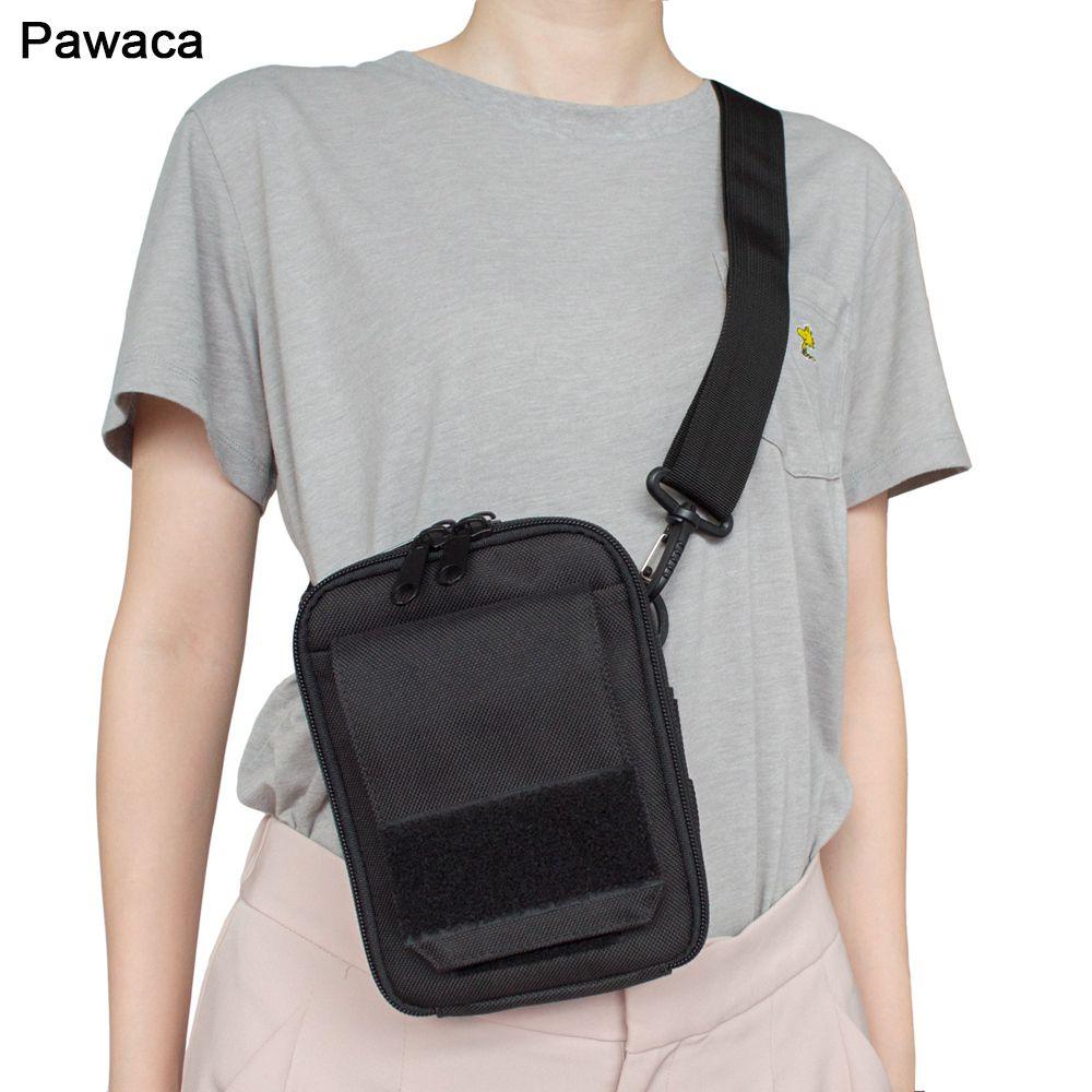 f2c190910 Compre Mini Bolsa De Pecho De Los Hombres Unisex Fresco Funcional ...