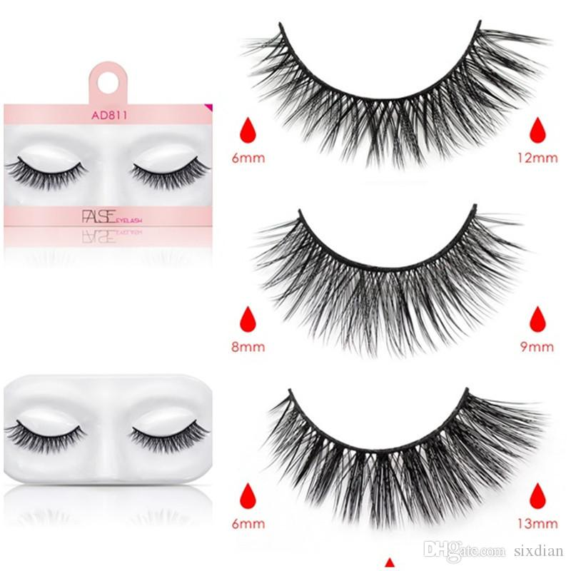 23eb331e236 New Hot Fashion False Eyelashes Natural Faux 3d Mink Eyelashes Fake 3D Mink  Lashes Soft Eyelash Extension Makeup Secret Lashes Xxl Lashes From Sixdian,  ...