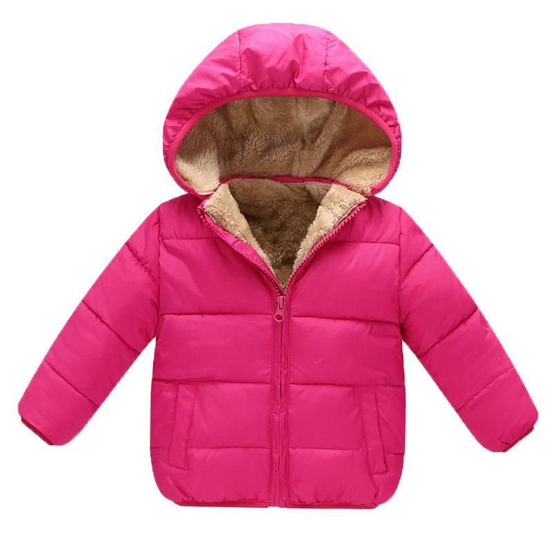 c600f1a0decbd7 Acquista Buona Qualità Winter Baby Boys Snowsuit Cotone Ragazze Cappotti Giacche  Bambino Addensare Velluto Caldo Giù Parka Bambini Boy Giacche Capispalla A  ...