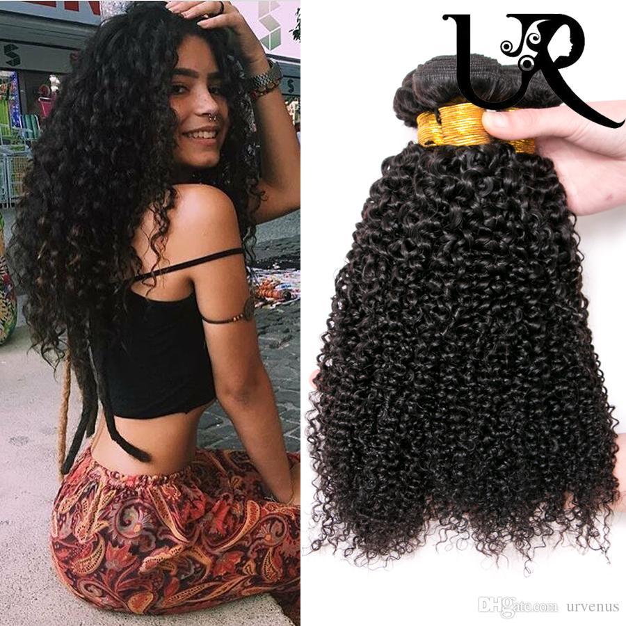 Factory Price Best Brazilian Virgin Kinky Curly Remy Human Hair Weave  Bundles Mongolian Curly Virgin Hair In Natural Color 8 30inch Black Hair  Weaves Hair ... b5e0ca954