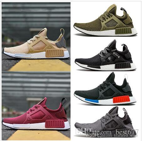 976bdc1d36b7 New Arrival Rose Red NMD XR1 Shoes Wine Mastermind Japan Olive Green ...