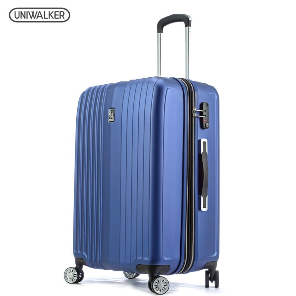 a1e2844b27164 Satın Al Uniwalker Bagaj 2 Parça Set Spinner PET Bagaj, 20 Ve 24  Genişletilebilir Hafif Haddeleme Bavul TSA Kilidi Ile, $352.49    DHgate.Com'da
