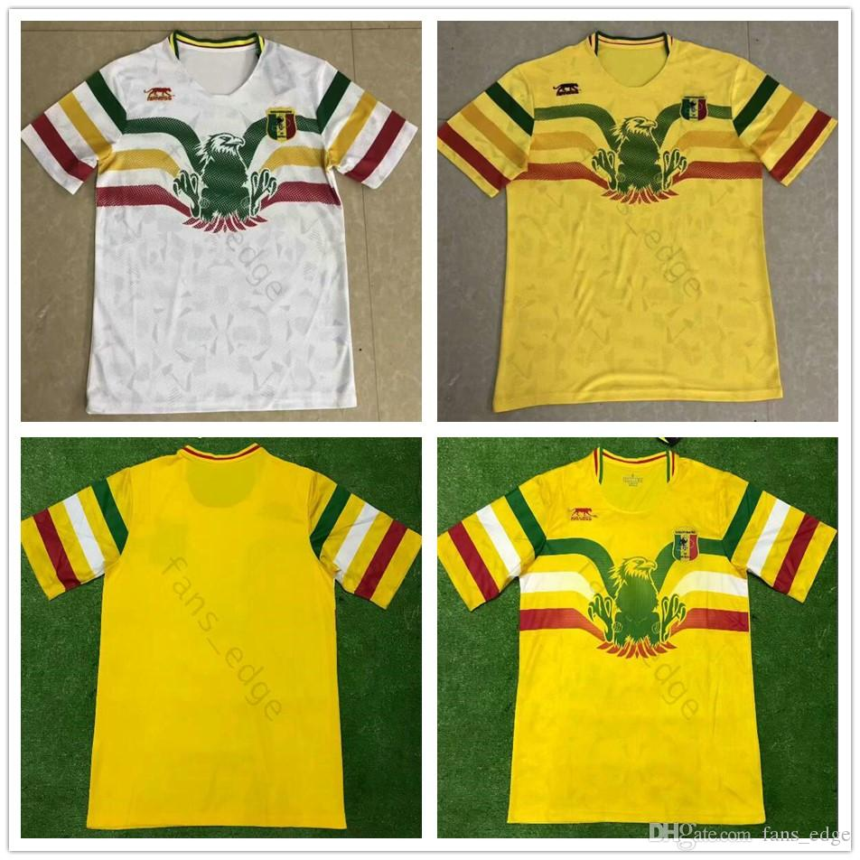 1ed48311ff3 2019 2019 2020 National Team Mali Soccer Jerseys Custom Any Name Any Number  Home Yellow Away White Concept 19 20 Football Jersey Shirt Uniform From ...