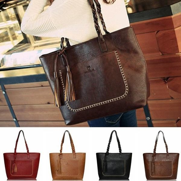 e54e0f8fcf Charms Women PU Leather Tote Shoulder Bags Hobo Handbags Satchel Messenger  Bag Purse Fashion Outdoor Accessories UK 2019 From Jasminum