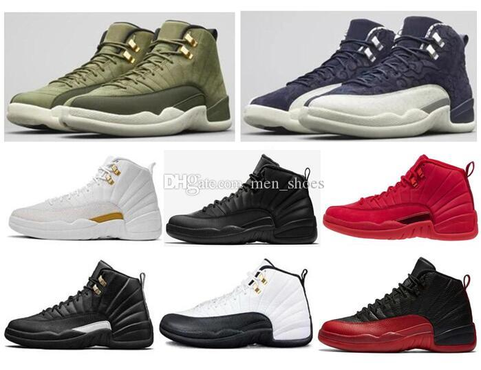 check out ae188 25b25 Großhandel Hohe Qualität 12 Chris Paul Class Of 2003 Abschluss Pack Olive  Canvas Männer CP3 Basketball Schuhe 12s Neue Turnhalle Rote Grippe Spiel ...