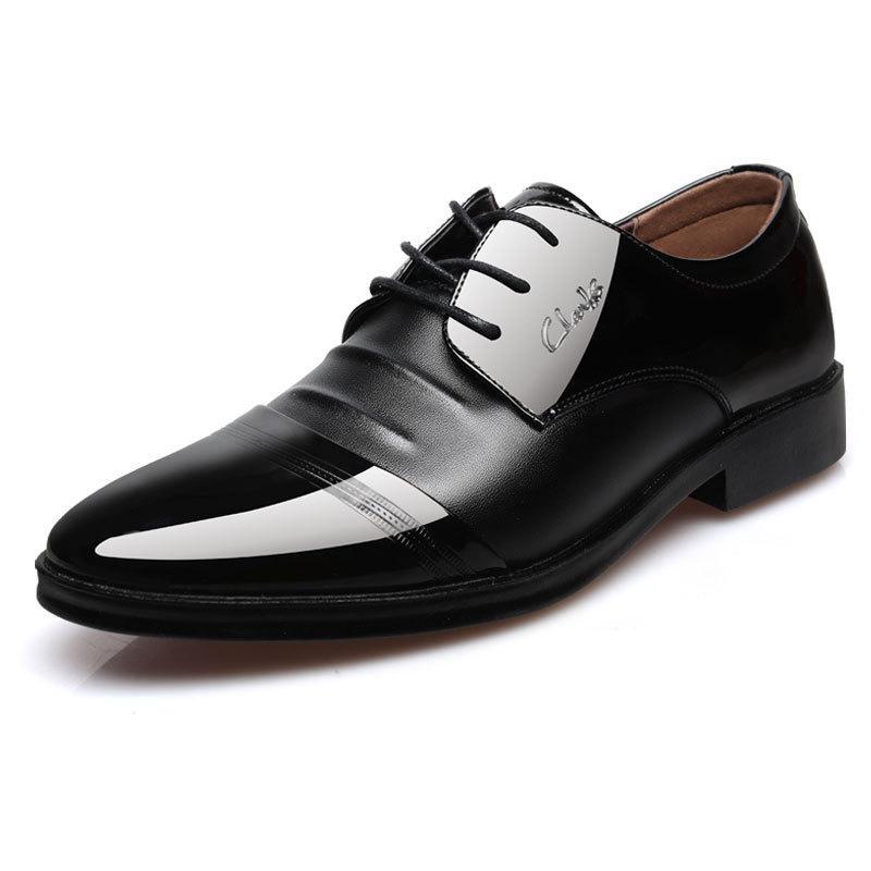 2da808111b9cf Men Social Shoe Spring Leather Comfortable Brand Fashion High ...