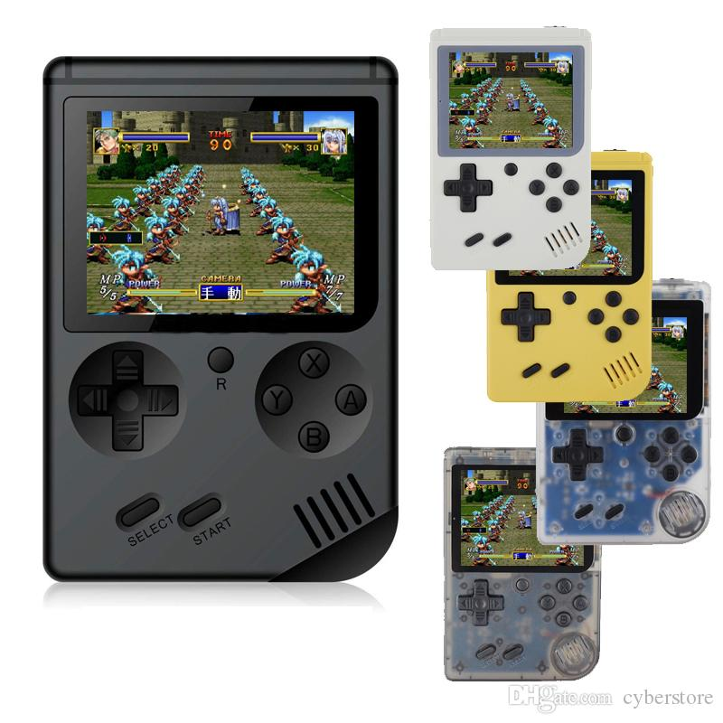 Video Games Consoles Mini Portable Handheld Game Console Player 3.0 Inch LCD Screen FC Pocket Game Console Bulit in 168 Games