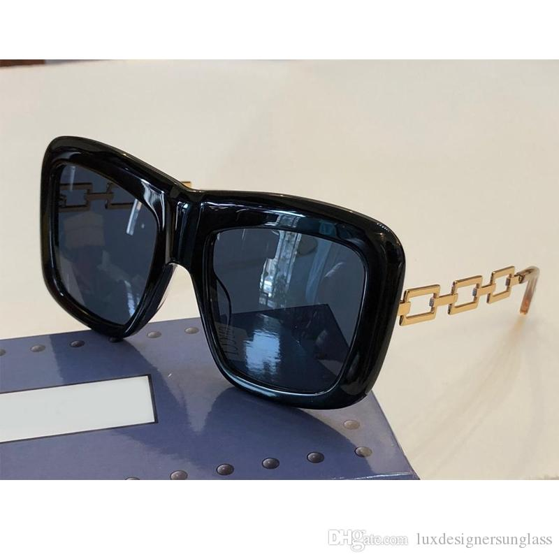 Women Luxury Sunglasses 0499S Fashion Sunglasses with Stamp Square Frame UV400 Lens Come with Box New Arrival