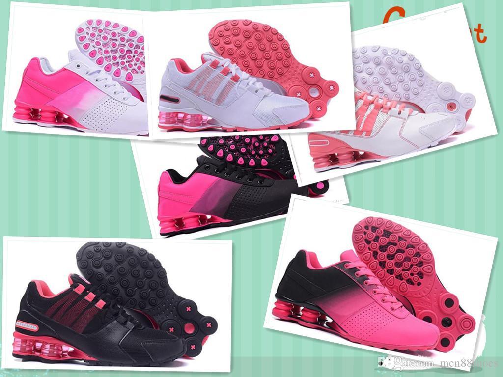 free shipping 0f7f3 139f0 Acheter Nouveau Shox Deliver 809 Femmes Hommes Femmes Air Running Chaussures  En Gros Célèbre DELIVER OZ NZ Hommes Athlétique Baskets De Sport Chaussures  De ...