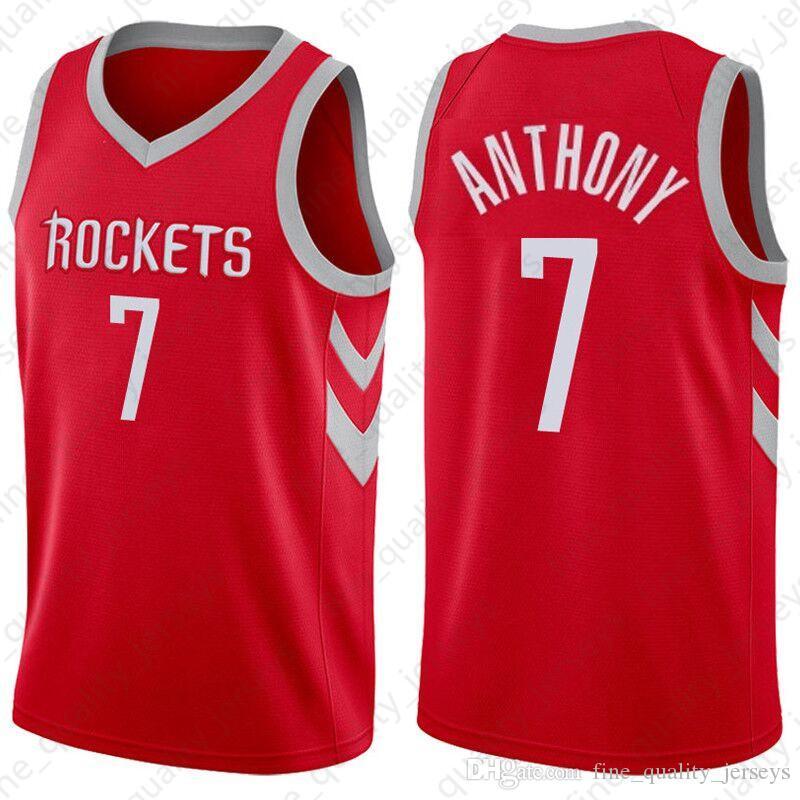 f582b57bb18 2019 James 13 Harden Houston Jerseys Rockets 7 Carmelo   Anthony 3 Chris   Paul  Basketball Jerseys From Fine quality jerseys