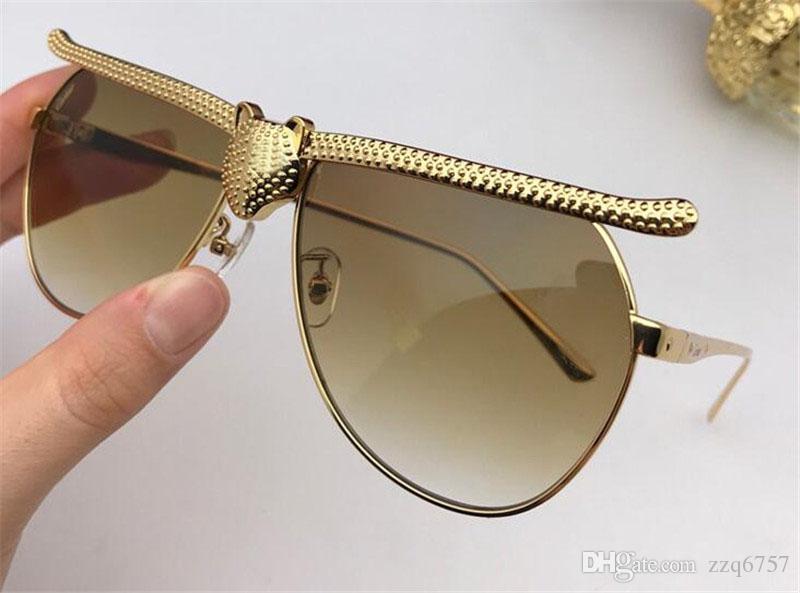 2d83218e6a3e New Fashion Designer Sunglasses 1076 Pilot Simple Frame Popular ...