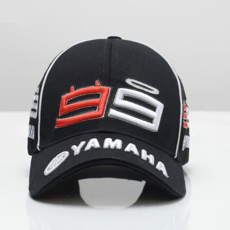 d56717d61c5a7 Newest F1 MOTO GP Jorge Lorenzo Mens Embroidery 99 YAMAHA Cap Motorcycle  Racing Men Baseball Cap Gorra Sport Snapback Hats Bone Cap Hat Flat Caps  For Men ...