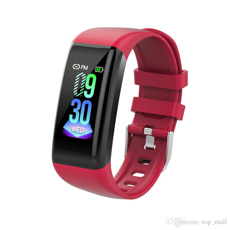 Fashion Sport Bracelet Smart Watch Water Resistant Wristband with Heart Rate Monitor Sports Tracker For Apple iPhone Android Samsung