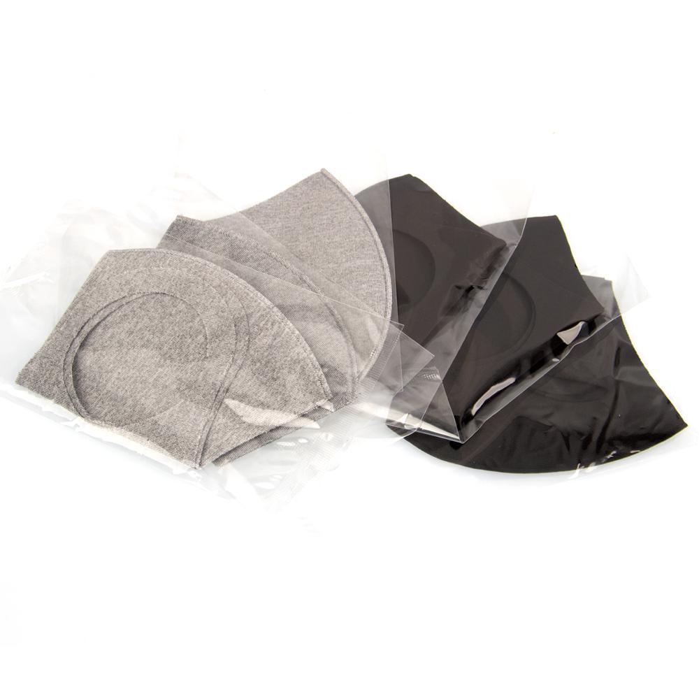 입 아이스 마스크 안티 먼지 얼굴 커버 PM2.5 호흡 보호구 방진 항균 세척 재사용 아이스 실크 코튼 마스크 어른 어린이 재고 있음