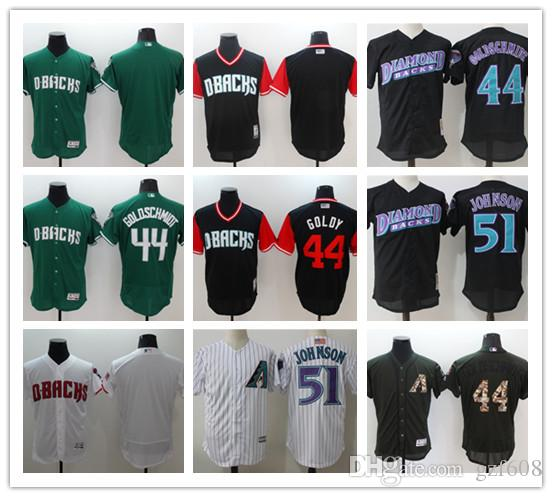 9eea16f6e 2019 Custom Men S Women Youth Arizona Diamondbacks Jersey  51 Randy Johnson  Black Grey Baseball Jerseys From Gzf608