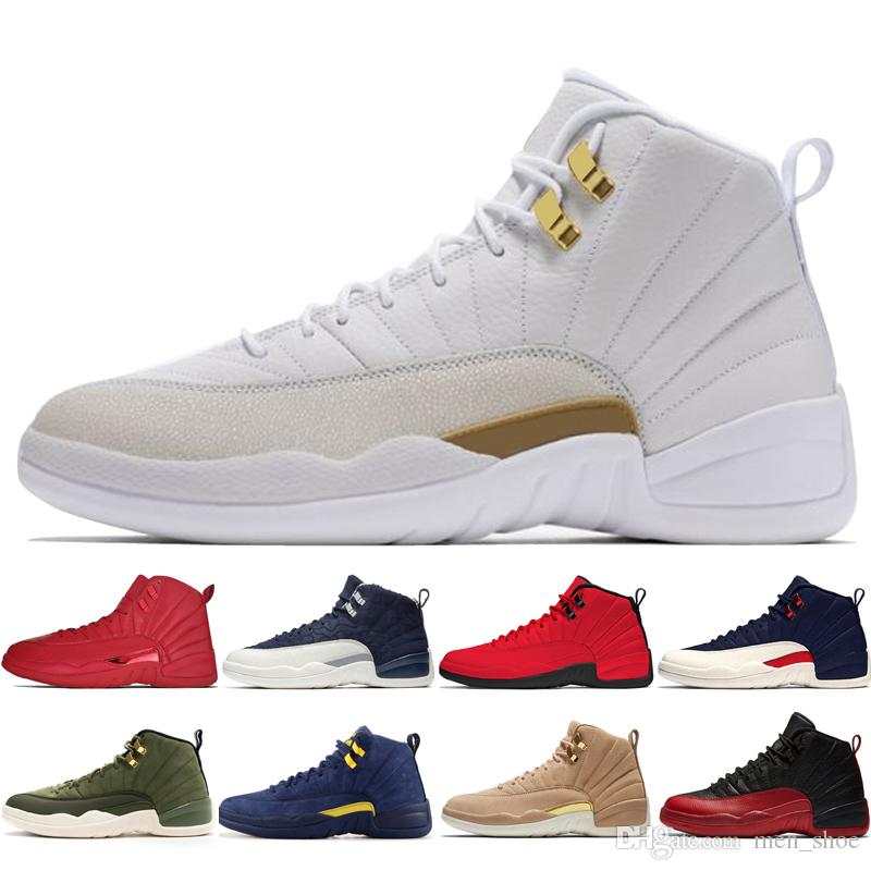 f845d6aad809 Cheap 12 12s Gym Red WNTR Mens Basketball Shoes Michigan ...