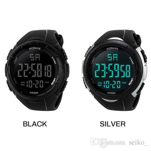 38ab52cc84d Compre Moda De Alto Custo Desempenho Homens Meninos De Luxo Analógico Digital  Esporte Militar Do Esporte LED Relógio De Pulso À Prova D  Água De Seiko